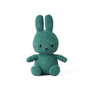 Miffy Corduroy Soft Toy 24cm - Green