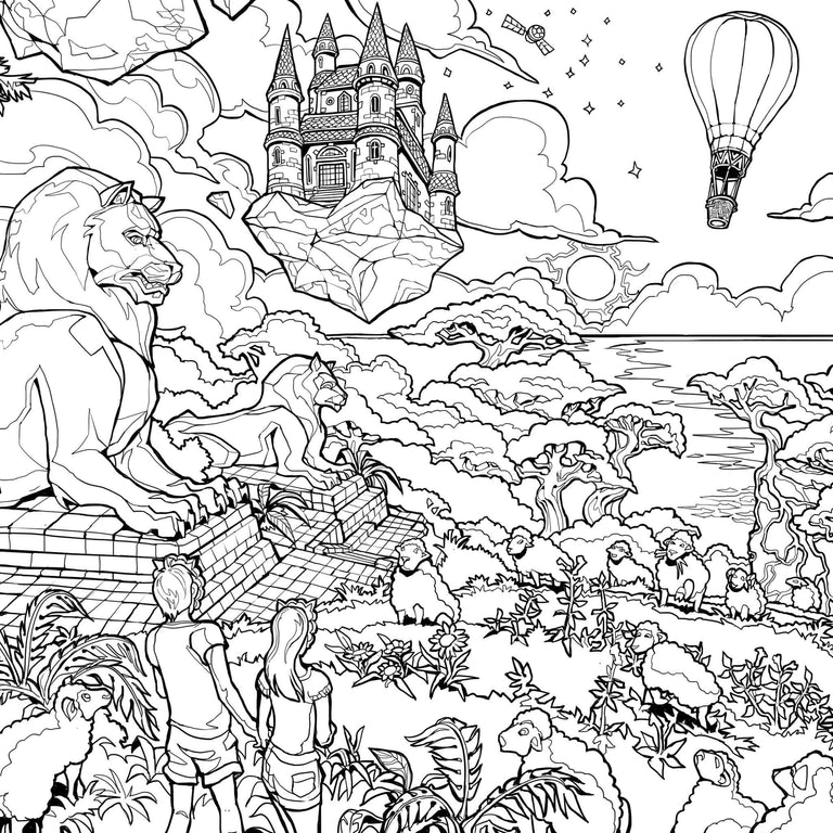 Sheepy's Concept Art Colouring Book: Digital Edition