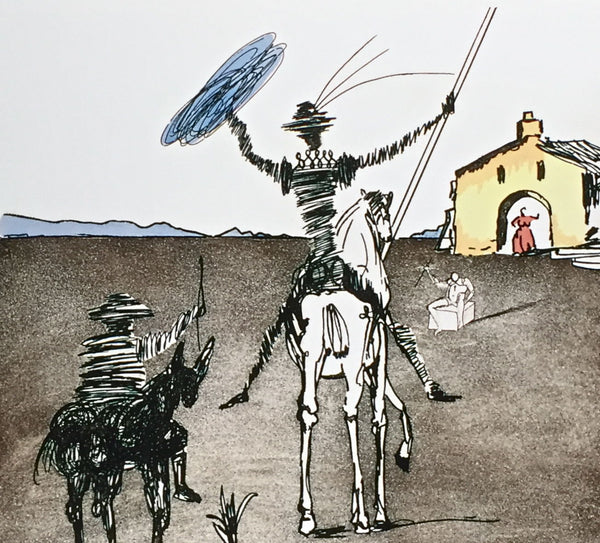 The Impossible Dream, Limited Edition Giclee, Salvador Dali