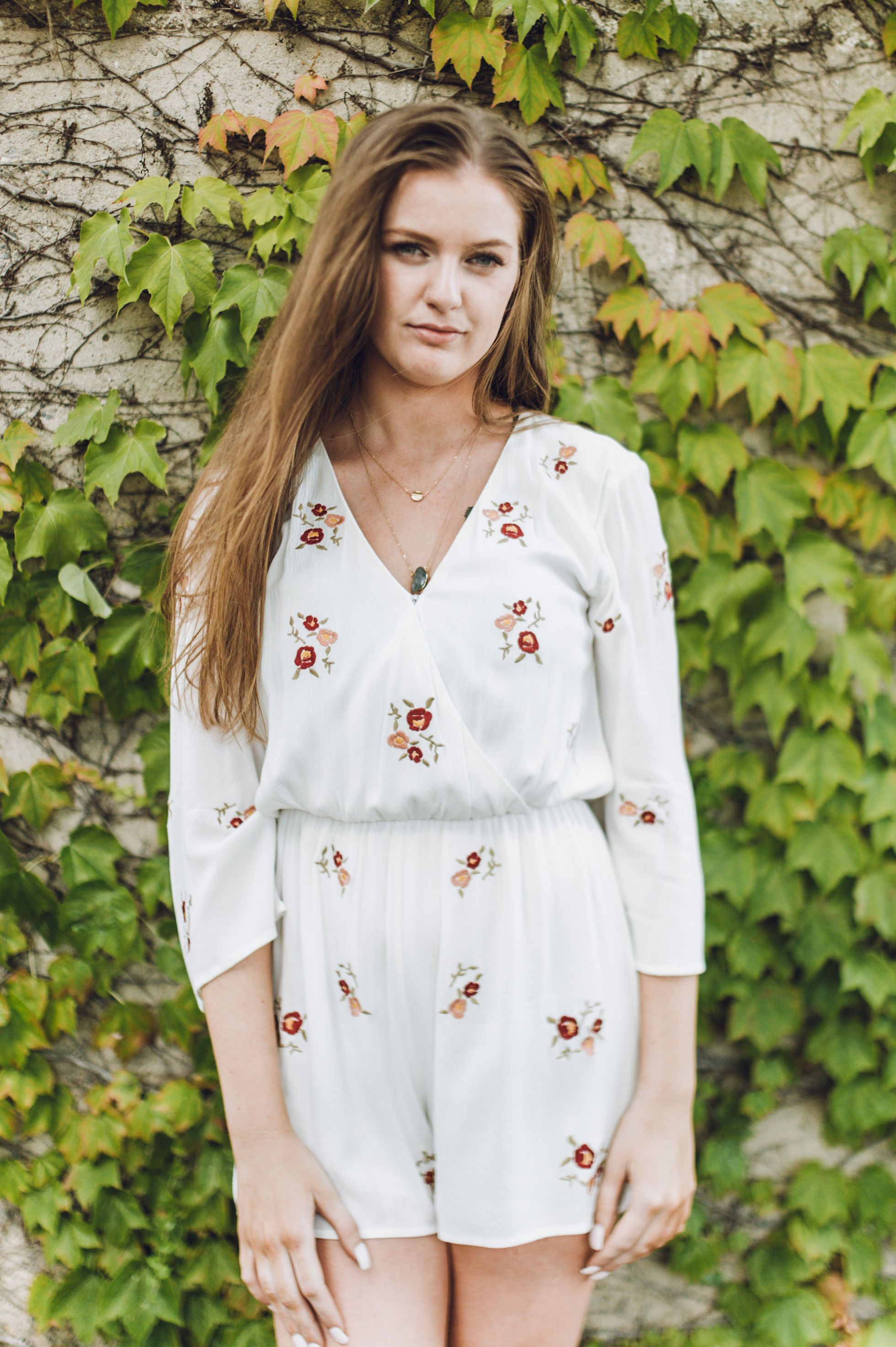 Brilliant Bloom Romper