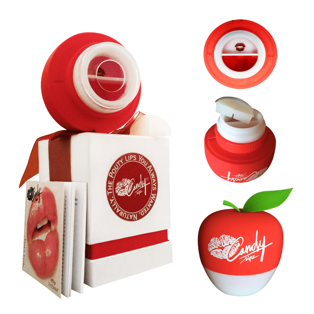 Genuine Candylipz Lip Plumper Red Apple (S to M)