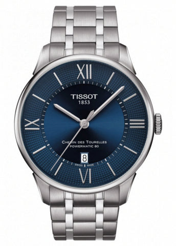 TISSOT SWISS GENTS CHEMIN DES TOURELLES POWERMATIC 80 T099-407-11-048-00