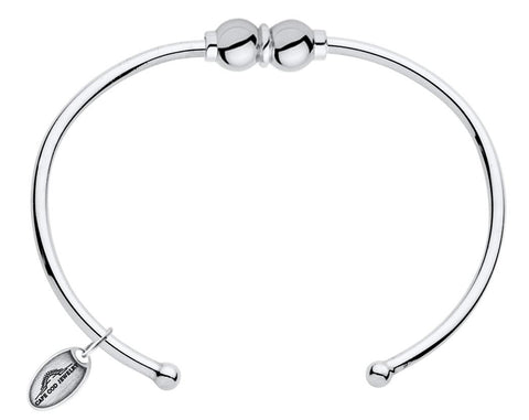 LeStage Cape Cod Sterling Silver Bracelet [Double Ball Cuff]
