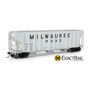 HO Scale: PS-2CD 4427 Covered Hopper - MILW '1965 As-Delivered'