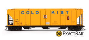 PS-2CD 4427 Covered Hopper : TLDX : Gold Kist - ExactRail Model Trains - 2