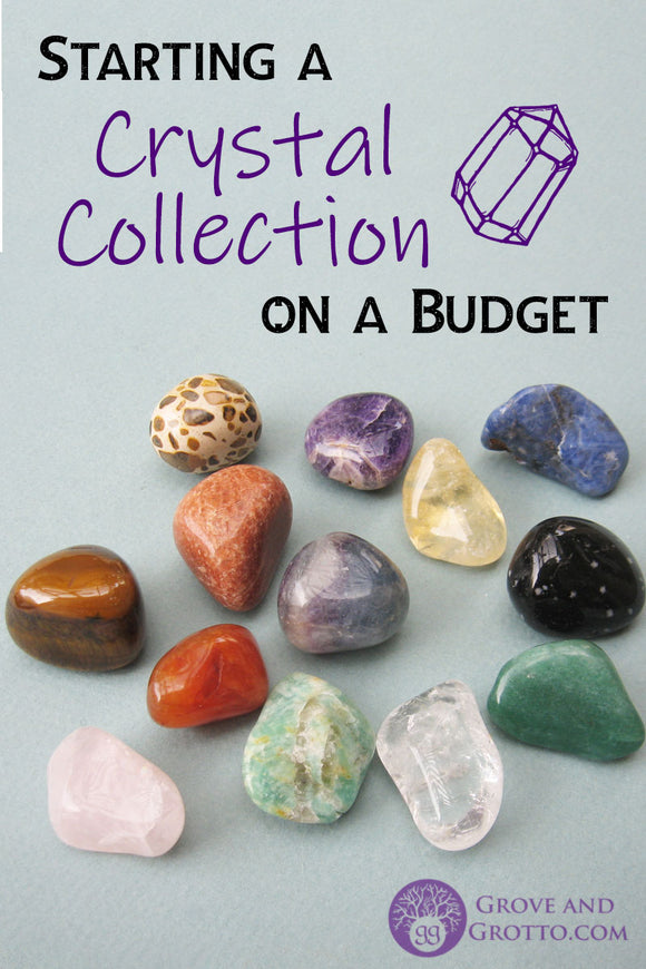 Starting a crystal collection on a budget