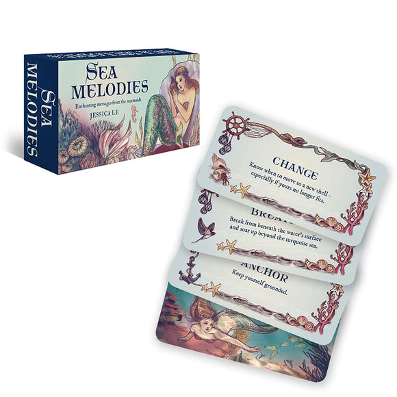 Sea Melodies Inspiration Cards