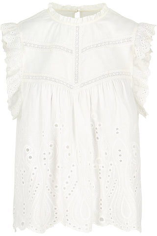 Anabelle Eyelet Top