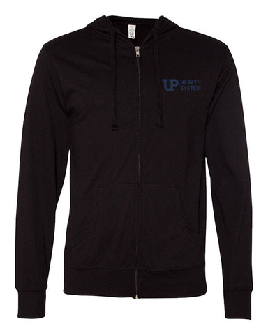 Unisex Full Zip Lightweight Jersey