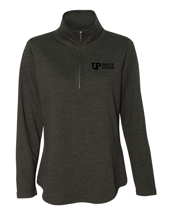 Ladies' French Terry Quarter Zip