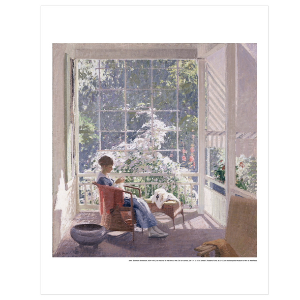 'At the End of the Porch' Print