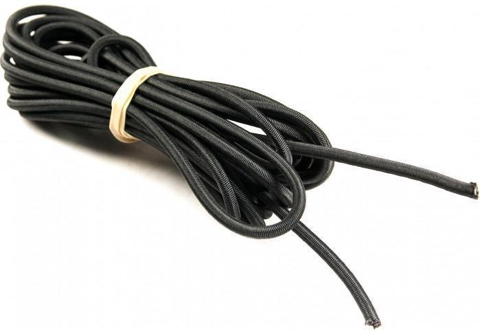Elastic Shockcord Black 6mm x 5M
