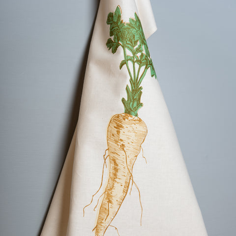 Parsnip Vegetable Tea Towel