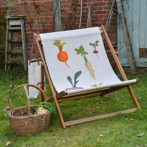Allotment Vegetables Double Deck Chair