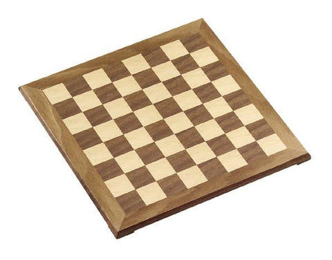 "1.5"" square Walnut & Maple Chessboard"