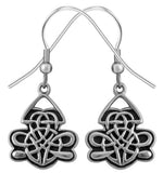 Celtic Shield Earrings 316L