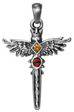 Winged Sword Pendant