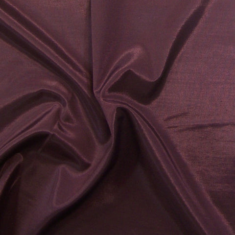 Drapery Fabric Plum Purple Faux Silk Theta Mulberry Toto Fabrics