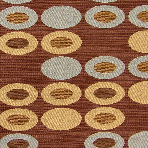 Knoll Textiles Fabric Remnant of Abacus Wooden Nickel