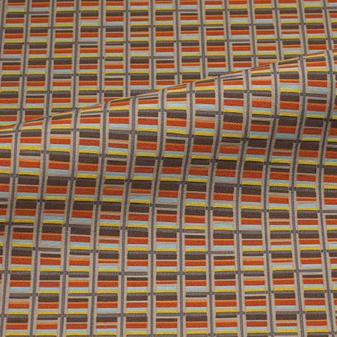 CF Stinson Alignment Wildcard Modern Multi Upholstery Fabric