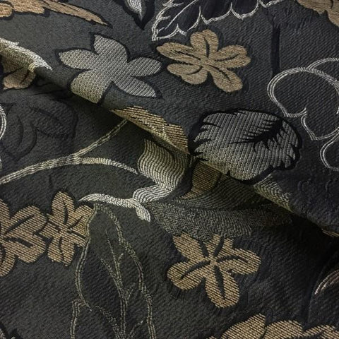 Swavelle Mill Creek Upholstery Fabric Botanical Palms Truffle Toto Fabrics