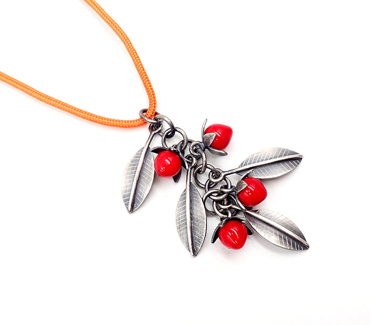 Red Berry Pendant