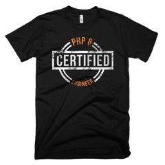 PHP 6 Certified: Unisex Tee