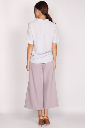 TDC Plouina Backdrop Relax Shirt In Grey