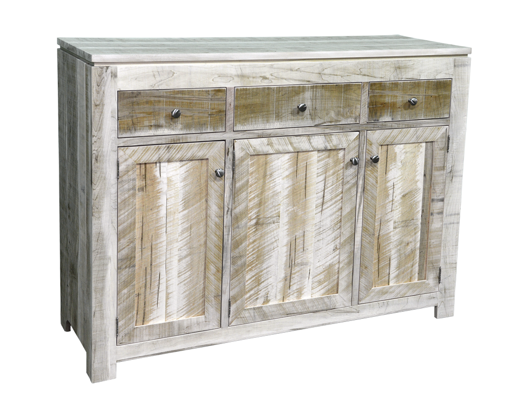 Rough Cut Metro 3 Door Sideboard
