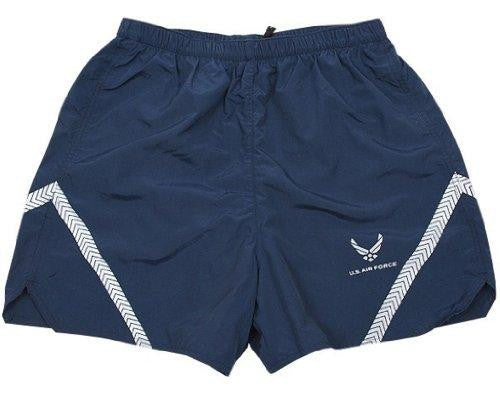 US Air Force PT Shorts Physical Training Trunks (PTU) Reflective Navy Size 2X-Large