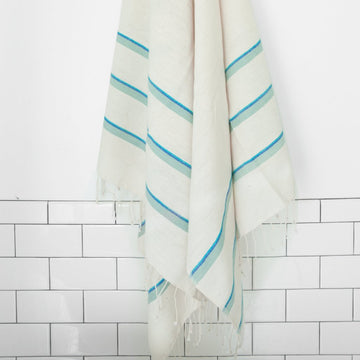 Omo Bath Sheet - Azure