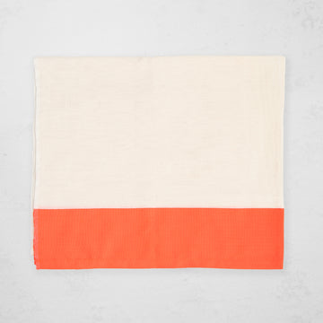 Solid Stripe Curtain - Orange
