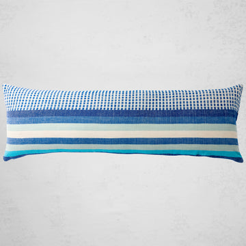 Suri Lumbar Pillow - Azure