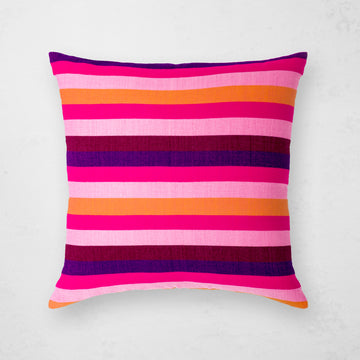 Turkana Pillow - Fuchsia