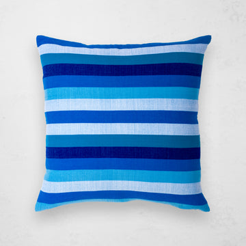 Turkana Pillow - Cerulean