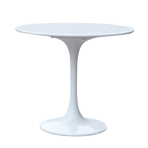 Flower End Side Table - White