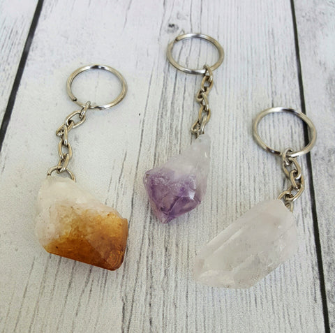 Crystal Point Keychains
