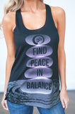 Find Peace In Balance Tank
