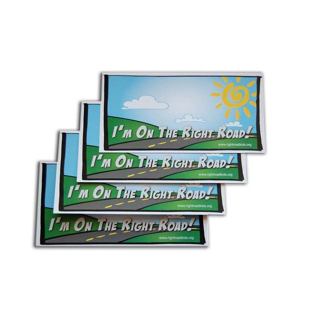 Right Road Bookmarks 4-Pack