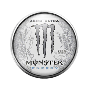 Monster Energy- 18MM Glass Dome Candy Snap Charm GD1006