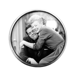 I Love Lucy- 18MM Glass Dome Candy Snap Charm GD1015