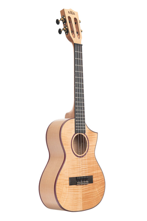Solid Flame Maple Tenor Cutaway