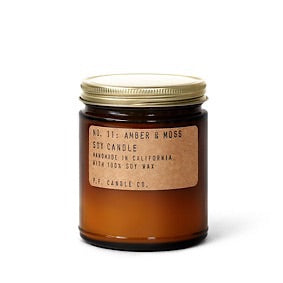 Standard Soy Candle - Amber & Moss (No. 11)