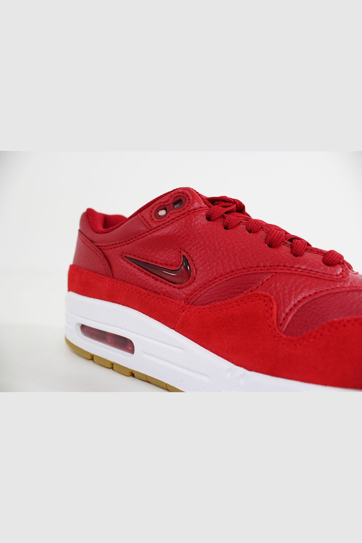 Nike - Air Max 1 Premium Women (Gym Red/ Gym Red - Speed Red) AA0512-602
