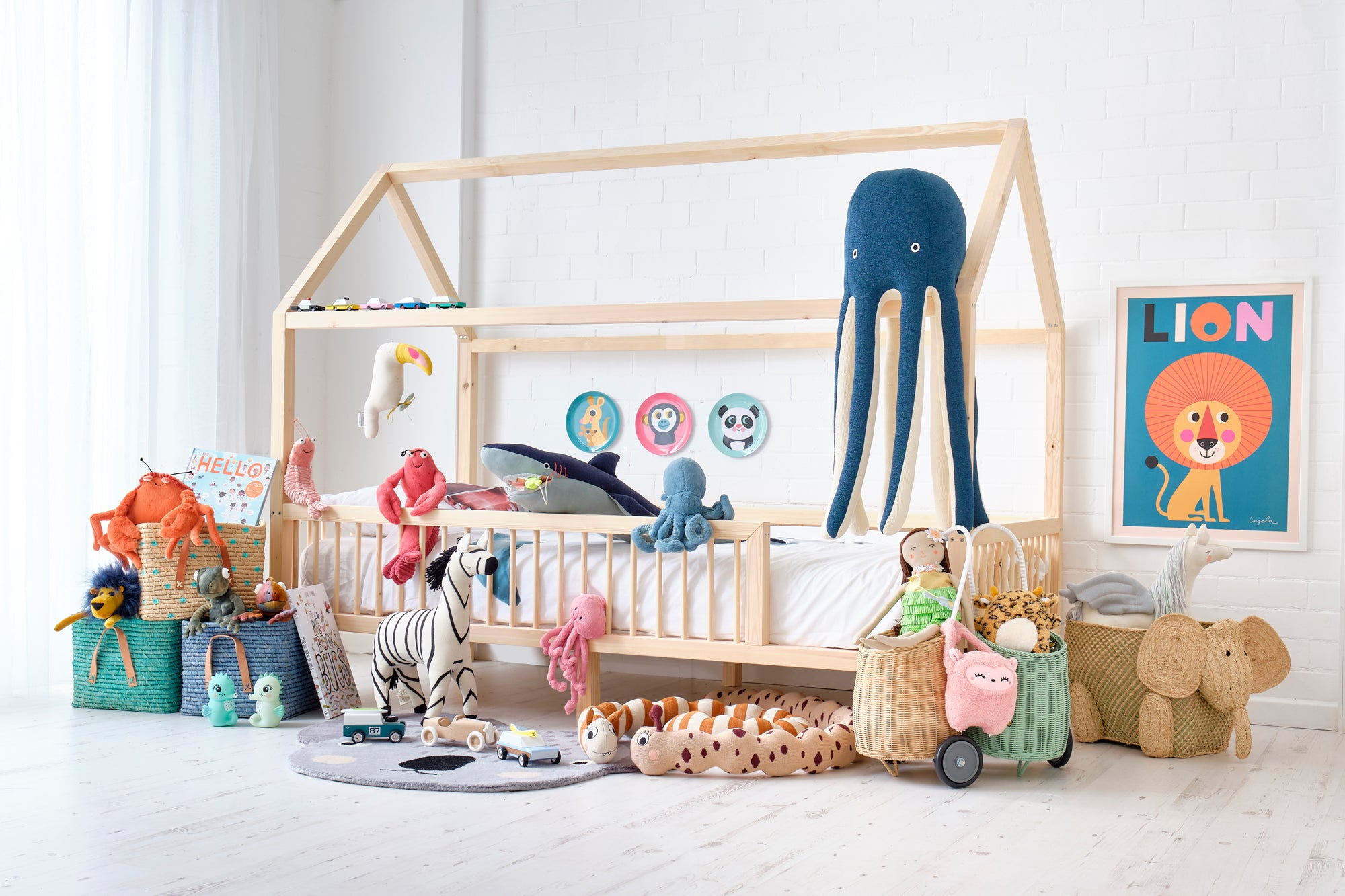 Treasure Island Children's Bedroom by Bobby Rabbit, to be featured in Our Royal Baby.