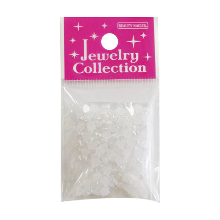 Beauty Nailer Jewelry Collection JC-23 Pearl White Heart 3g