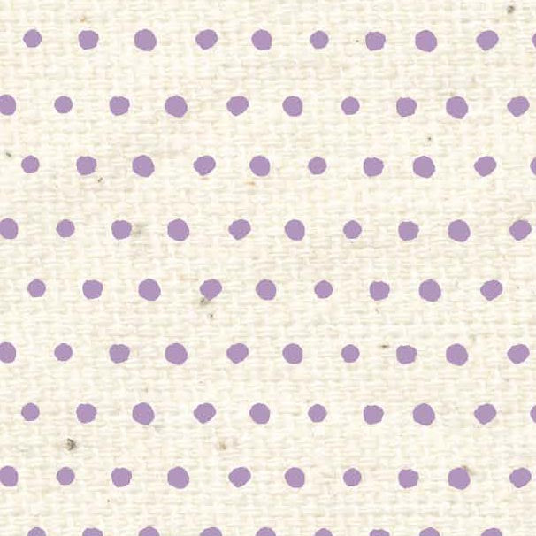 ***HSVLBD - Vintage Lilac Baby Dots Paper  8 1/2 x 11