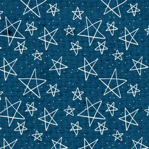 ******Blueberry Pie Doodle Stars Light