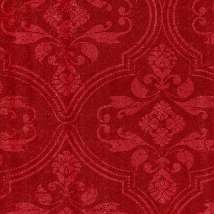*RRW8 - Roses Are Red Wallpaper Paper  8 1/2 x 11