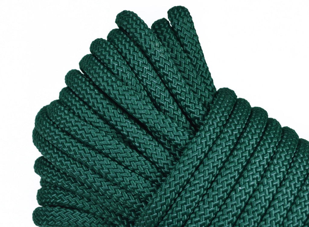 "Hunter Green - 1/4"" PolyPro Rope"
